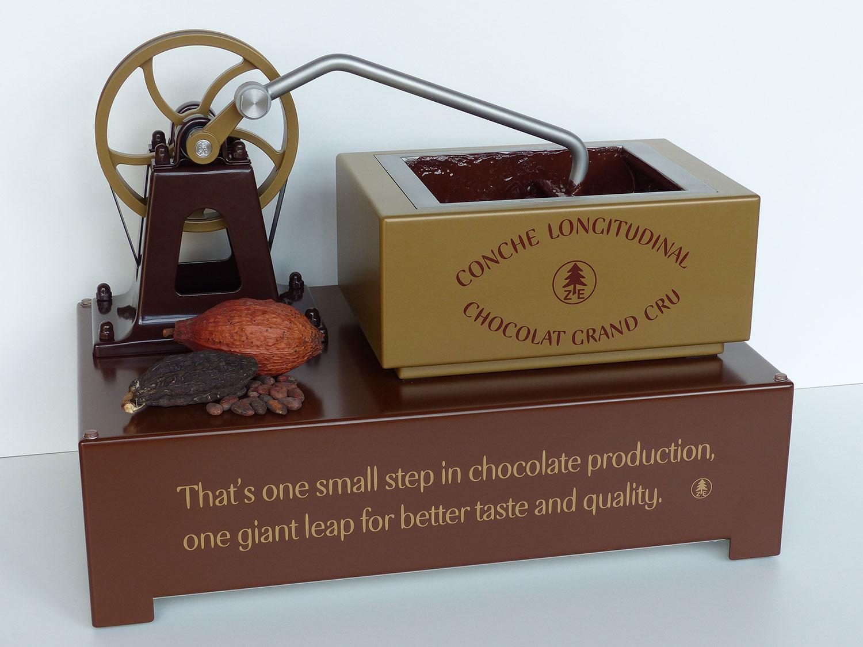 cocoa conching machine